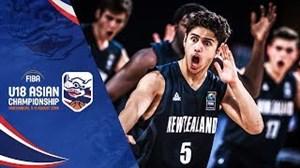 خلاصهبسکتبال ایران-نیوزلند(قهرمانیزیر 19 سالآسیا)