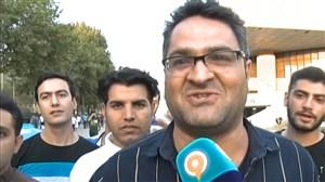 مصاحبه با هواداران استقلال و تراکتور سازی پیش از بازی