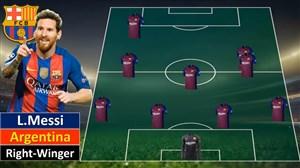 بروز رسانی ترکیب بارسلونا در فیفا 19