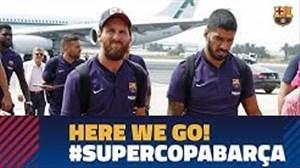 سفر تیم بارسلونا به طنجه (مراکش) برای سوپرکاپ