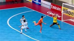 سوپرگل عقربی طیبی در فینال فوتسال باشگاه های آسیا