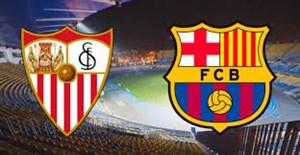 خلاصه بازی بارسلونا 2 - سویا 1