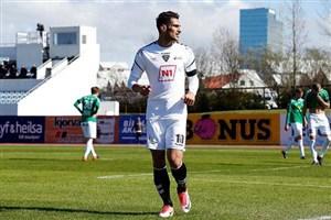 پیروزی شهاب زاهدی با IBV در لیگ ایسلند