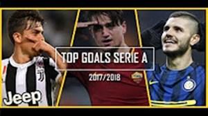 20 گل برتر سری آ در فصل 18-2017