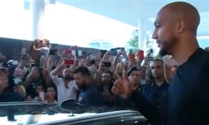 حضور ان زونزی در باشگاه رم برای عقد قرارداد