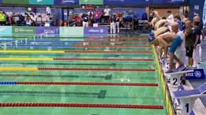 فینال شنا؛ 50 و 100 متر پروانه معلولین اروپا 2018