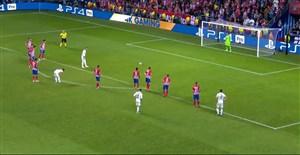 گل دوم رئال مادرید به اتلتیکو (پنالتی-راموس)