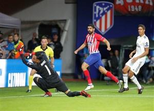 رئال 2-4 اتلتیکو؛ بدون رونالدو، بدون جام