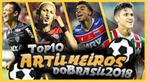 10 گلزن برتر لیگ سری آ برزیل