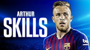 تکنیک ها و مهارتهای آرتور ملو بازیکن جوان بارسلونا