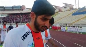 واکنش ترابی به ماندن در تبریز پس از بازی با تراکتور