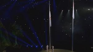 اهتزاز پرچم بازیهای آسیایی جاکارتا 2018
