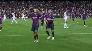 گل دوم بارسلونا به آلاوس (کوتینیو)
