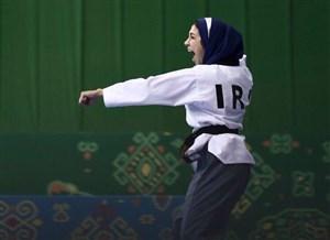 اولین مدال دختران ایرانى با درخشش سلحشورى