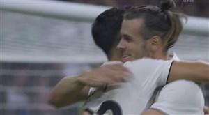 گل دوم رئال مادرید به ختافه (گرت بیل)