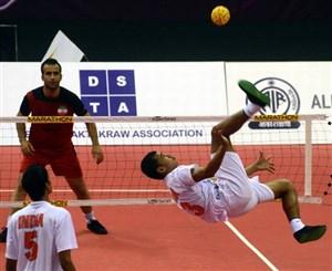 خلاصه بازی سپک تاکرا  هند 2 - ایران 1