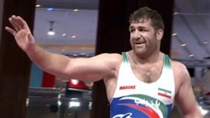 پیروزی پرویز هادی در نیمهنهایی وزن 125 کیلوگرم