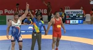 پیروزی پرویزهادیدرفینالکشتیآزاد125کیلوگرمجاکارتا
