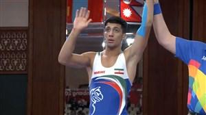 پیروزی محمدرضاگرایی در کمتر از 1 دقیقه و کسب مدال برنز