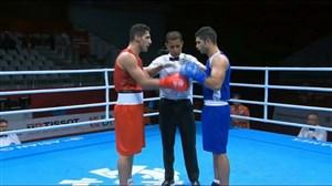برد شاهین موسوی مقابل سوریه در بوکس