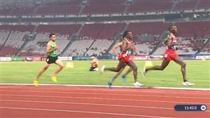 کسب مقام چهارم حسین کیهانی در دو 5هزار متر