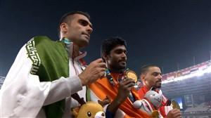 اهدا مدال نقره به امیر مرادی در دو 1500 متر جاکارتا