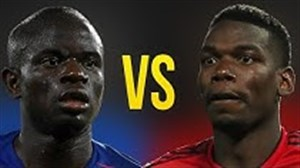 مقایسه عملکرد پل پوگبا و انگولو کانته در فصل 18-2017