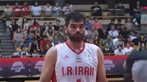 خلاصه بازی بسکتبال ایران 56 - ژاپن 70 (مقدماتی جام جهانی)
