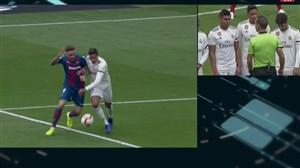 گل دوم لوانته به رئال مادرید توسط روجر (پنالتی)