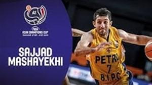 سجاد مشایخی بهترین بازیکن دیدار پتروشیمی - مرالکو بولتس