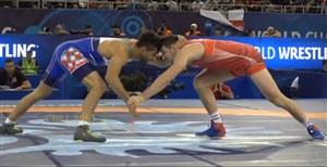 پیروزی 10 بر 2 اکبری مقابل حریفی از فرانسه