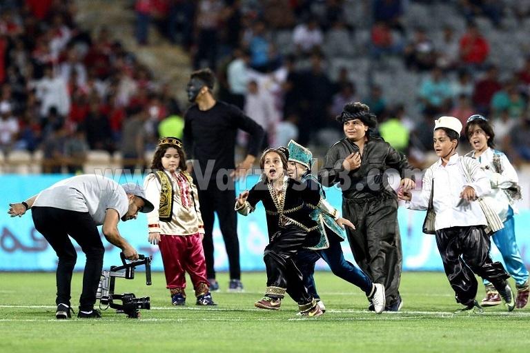 برنامه فرهنگی سازمان لیگ در بازی پرسپولیس