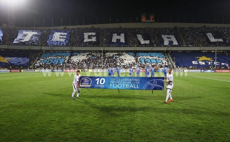 زیبا سازی ورزشگاه آزادی به سبک استقلالیها(عکس)