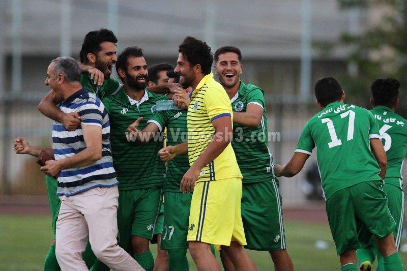 قدرتنمایی دوباره چوکا در فوتبال ایران(عکس)