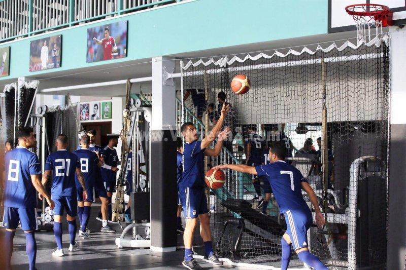 ریکاوری شاگردان کی روش با بسکتبال و والیبال(عکس)