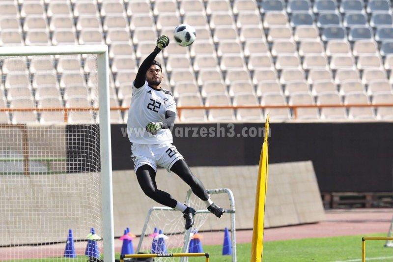 حسینی این بار تیم ملی را از دست نمی دهد (عکس)