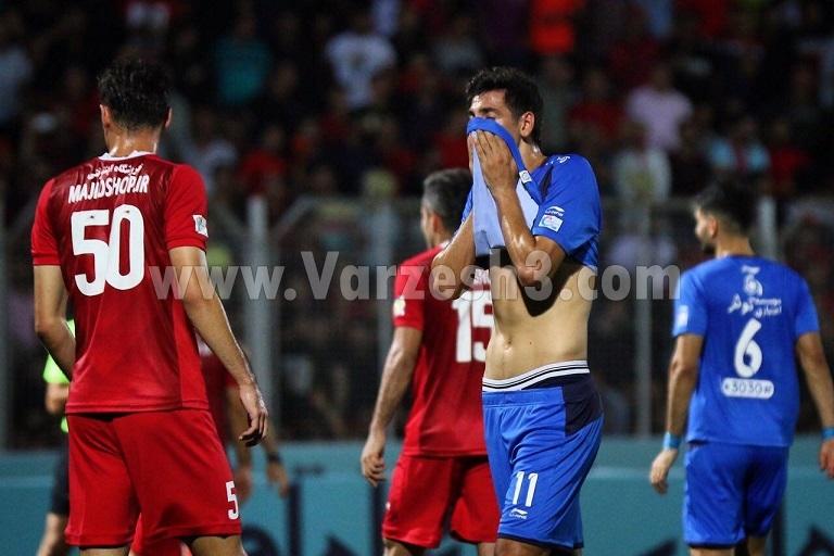 تبریزی ناکام در ثبت دومین گل لیگ برتری (عکس)