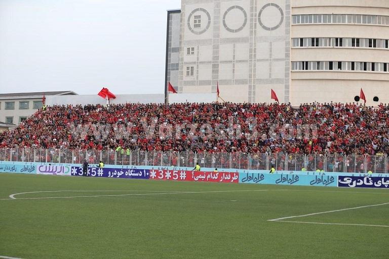 ورزشگاه وطنی با قلبی به وسعت آزادی (عکس)