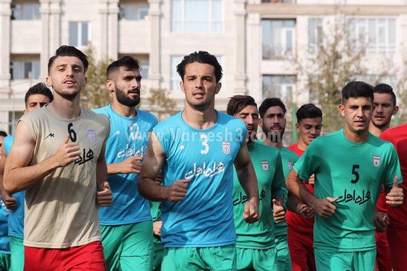 لژیونر جدید ایران دوباره در تیم امید (عکس)