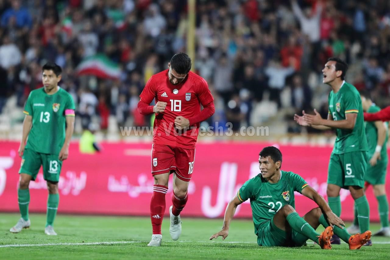 جهانبخش مهره 90 دقیقهای تیم ملی (عکس)