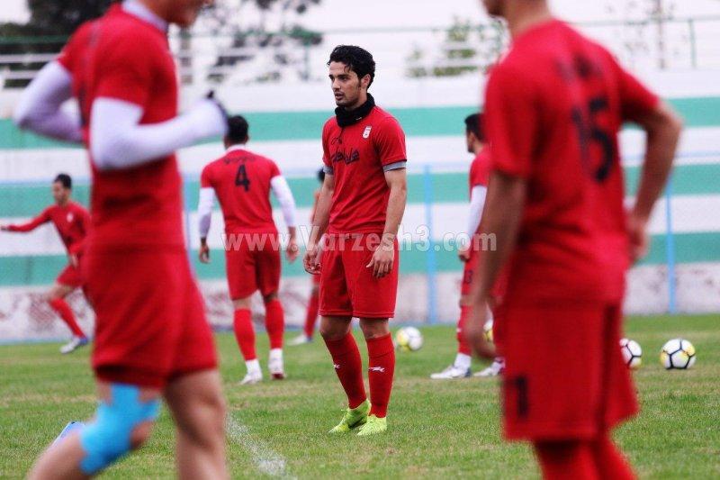 نورافکن؛ بازیکن مورد توجه تیم امید (عکس)