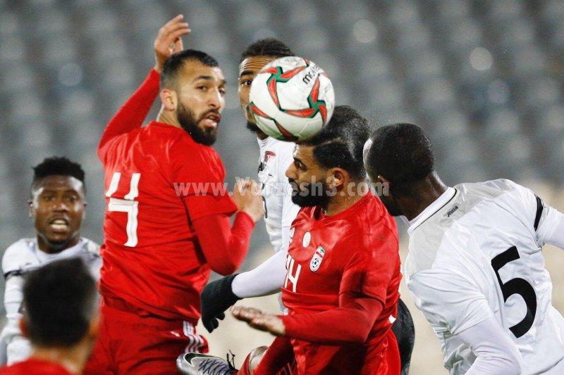 چشمی- کنعانی زادگان در تیم ملی به هم رسیدند