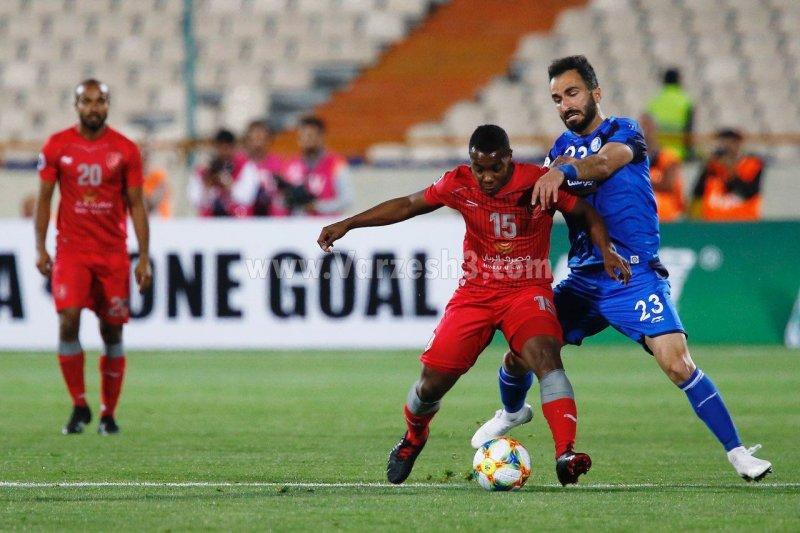 بازی شجاعیان در جام آسیا بین استقلال و الدحیل