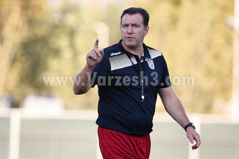 تیپ جدید ویلموتس در آخرین تمرین تیم ملی (عکس)