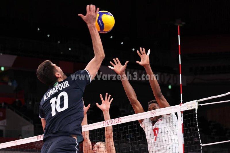 جنگ تن به تن  ایرانی ها در زمین والیبال