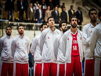 """رقابت بسکتبال """" ایران-  عراق""""  از شبکه سه"""