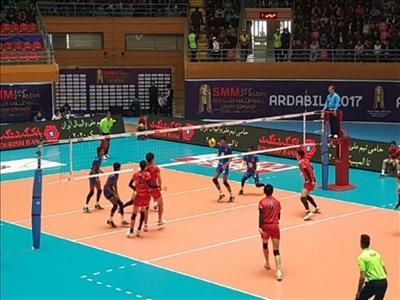 فینال والیبال امید های آسیا روی آنتن شبکه سه