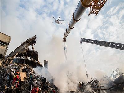 بررسی ابعاد حادثه ساختمان  پلاسکو  در « متن ،حاشیه »