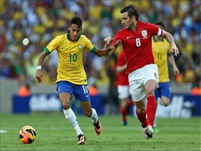 """مسابقه تدارکاتی""""انگلیس –برزیل"""" سه شنبه شب روی آنتن"""